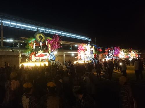 岩手町秋祭り