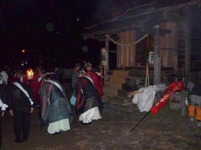 稲荷神社本殿遷座祭(2)