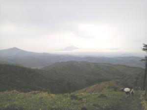 空雲山頂からのパノラマ