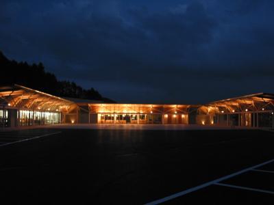 道の駅石神の丘 - 夜景