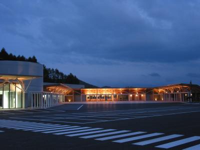 道の駅石神の丘 - 夕暮