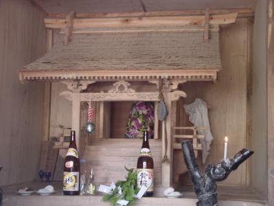 比岐々(ひきぎ)神社 神殿